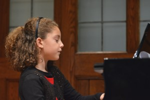 Image of Girl Performing at Recital